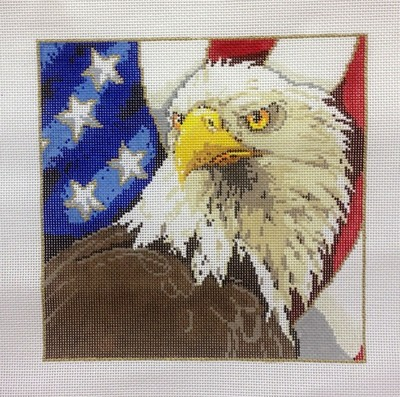 American Eagle (Handpainted by Sandra Gilmore)