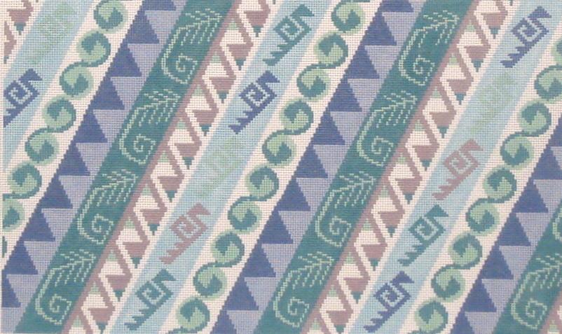 Kilim II B    (handpainted by Susan Roberts Needlepoint)