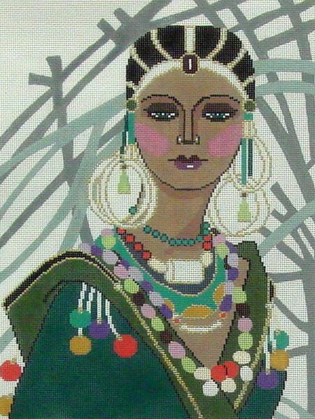 Niya  (Handpainted by Barbara Russell Designs)