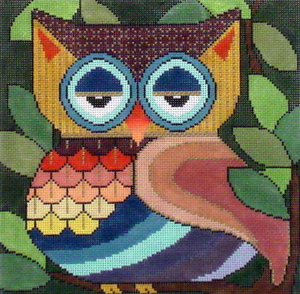 What are You Lookin At III     (JP Needlepoint Designs)