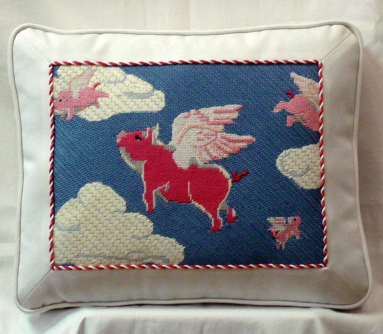 Flying Pigs      (Handpainted by Pepperberry Designs)
