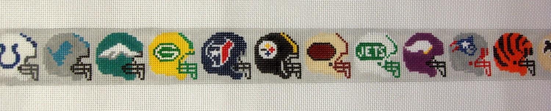 Pro Football Teams Belt (Handpainted by Voila)