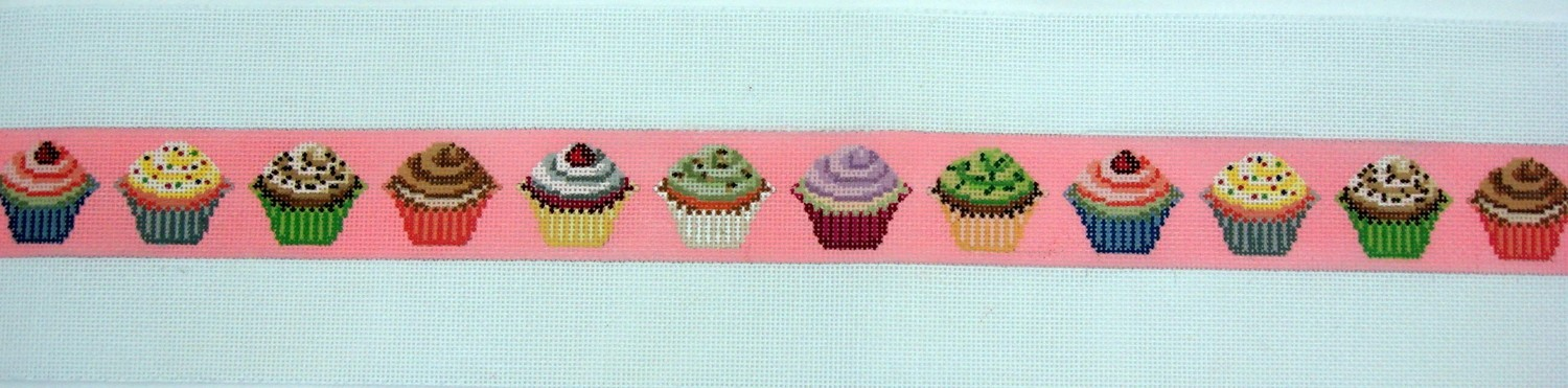 Cupcake Belt (Handpainted by Itz A Stitch)