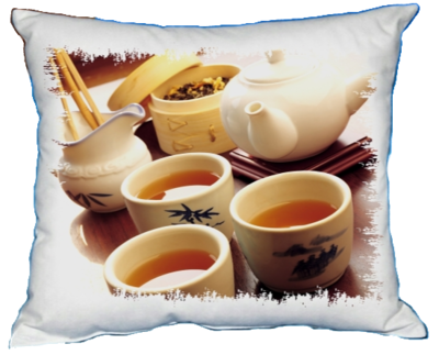 Polštářek Čaj