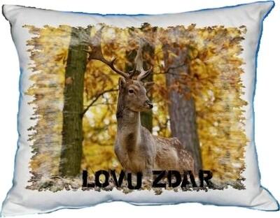 Polštářek Jelen v lese
