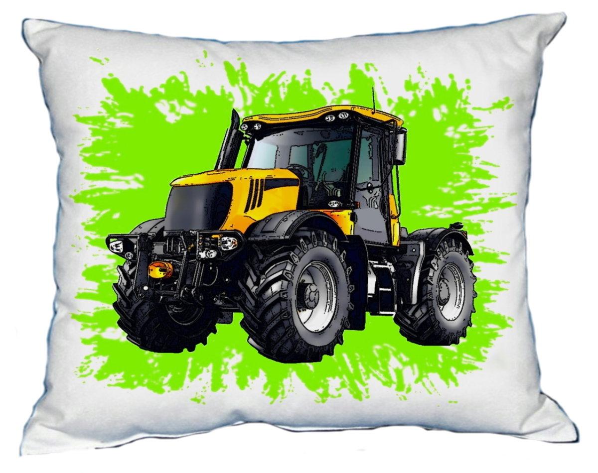 Polštářek Žlutý traktor