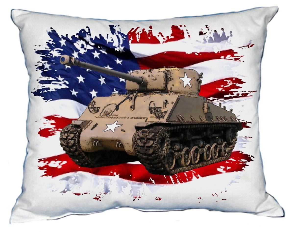 Polštářek Tank Sherman