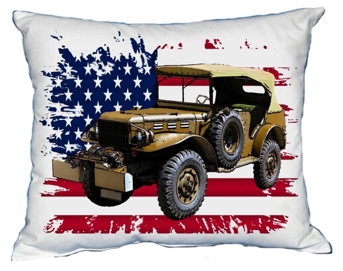 Polštářek Vojenský Jeep