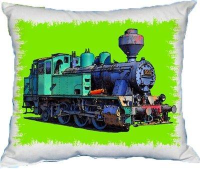 Polštářek Parní lokomotiva