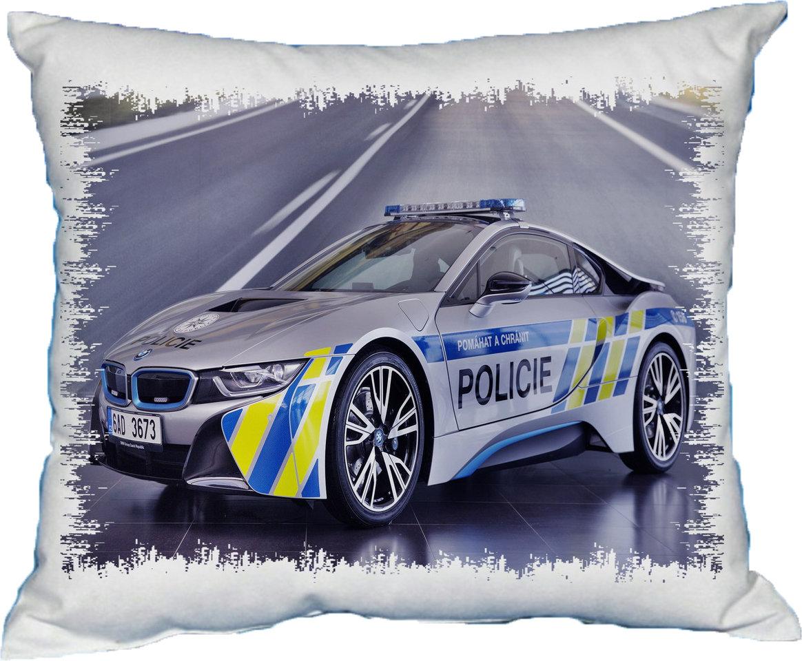 Polštářek Policejní BMW