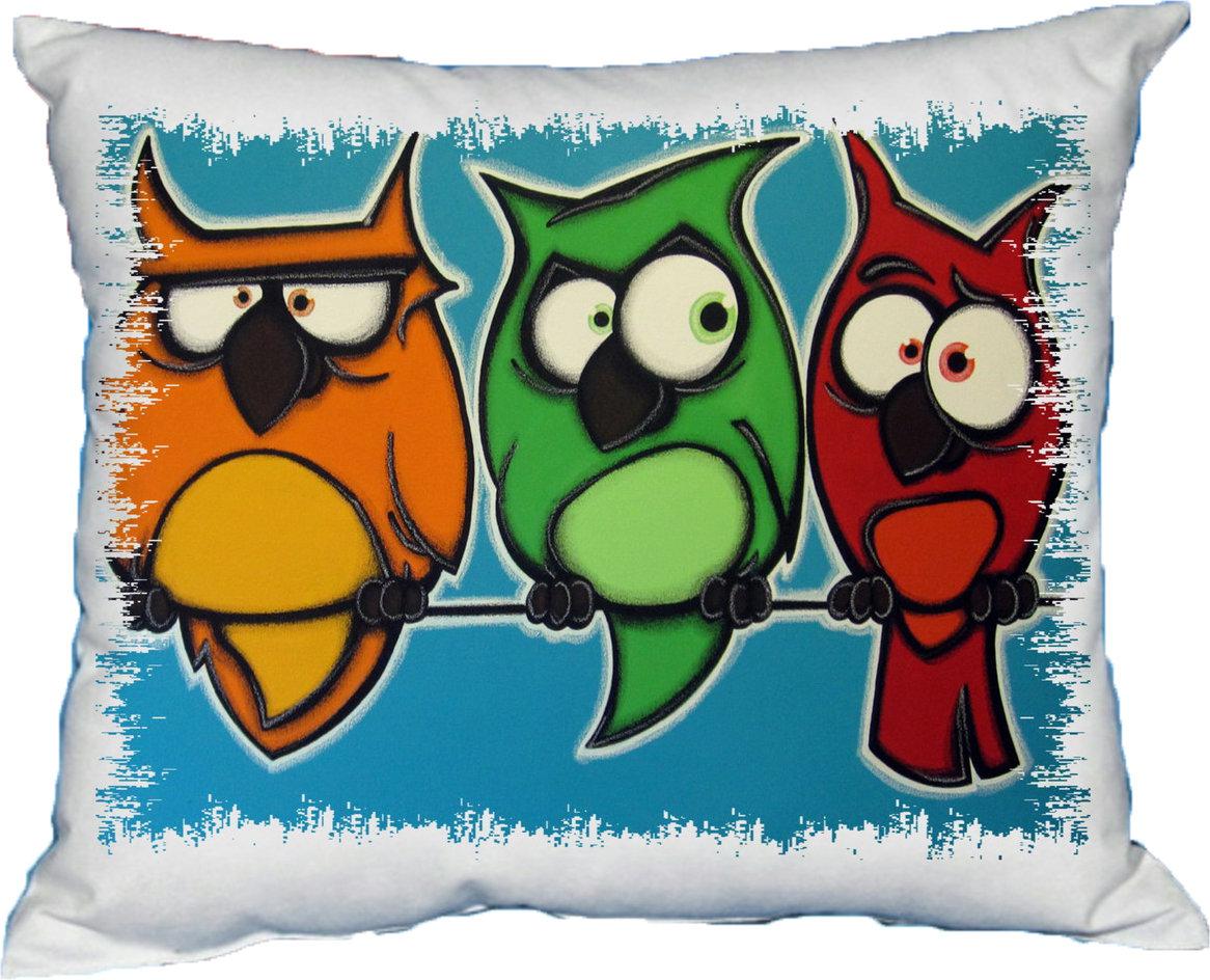 Polštářek Angry birds