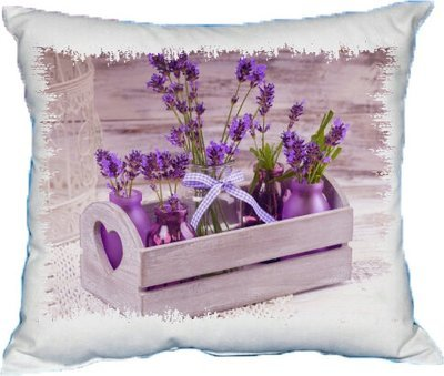 Polštářek Květiny