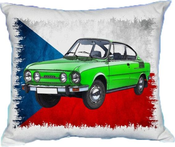 Polštářek Škoda 110 R