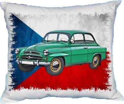 Polštářek Škoda Spartak