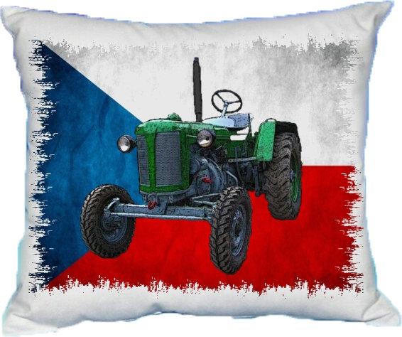 Polštářek Traktor malý