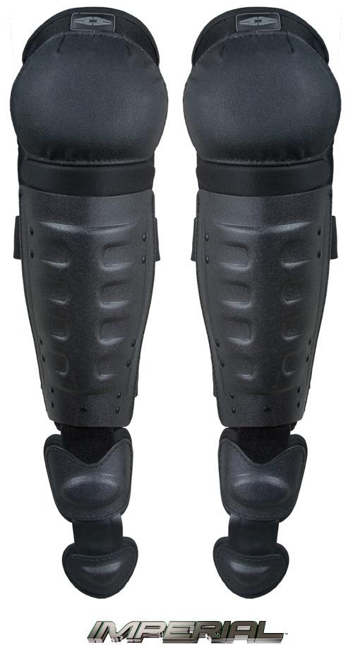 DSG100: Hard Shell Knee/Shin Guards w/ Non-slip knee caps