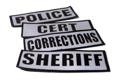 Reflective Name Plates