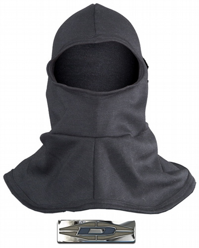 Heavyweight Hood with flared bib