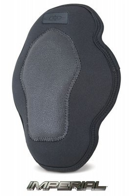 Low profile reinforced knee pad inserts