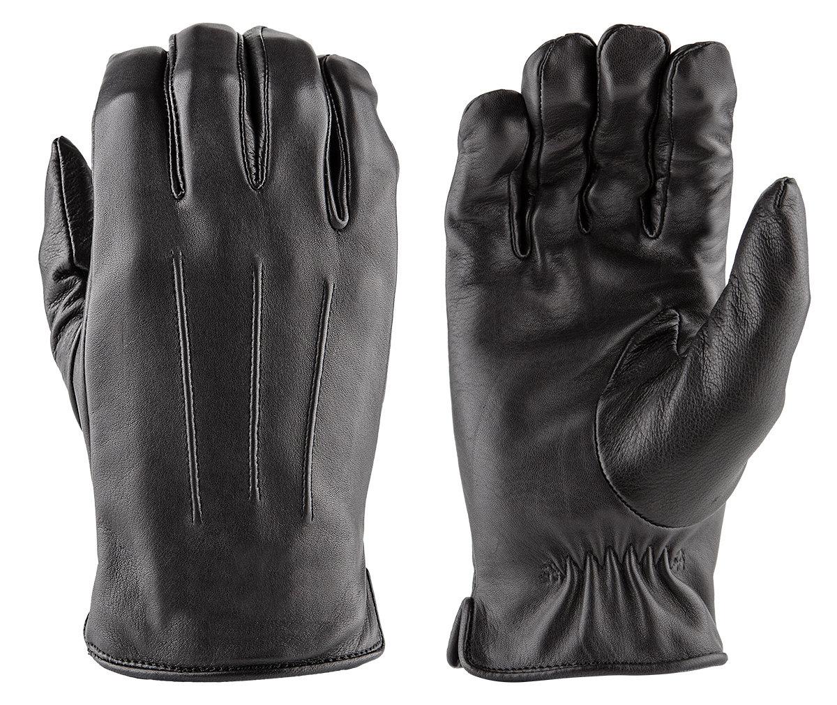 LUXE Deer Skin Leather Gloves w/ Faux Fur Lining DLD50-LX