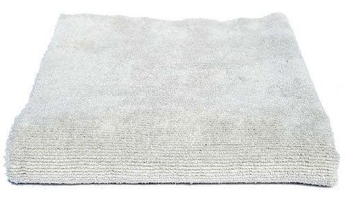 16 x 16 Edgeless Exterior Gray Ultra Plush Microfiber Detail Towel DD-1055