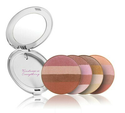 Bronzers in Silver Refillable Compact