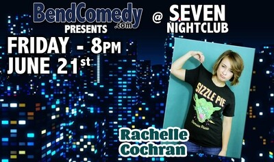 June 21 2019 Comedy Showcase ft. Rachelle Cochran
