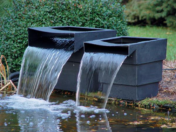 Waterfall Tank 28 w/Angle