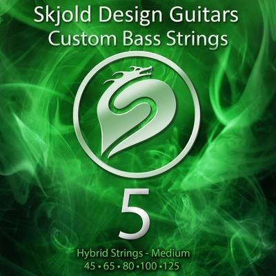 Hybrid Nickel/Steel - Medium 5 String