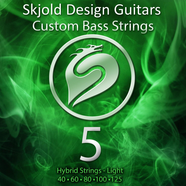 Hybrid Nickel/Steel - Light 5 String