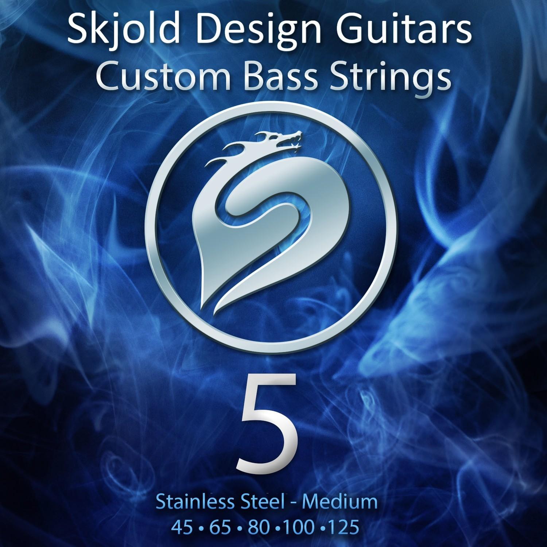 Stainless Steel - 5 String Medium