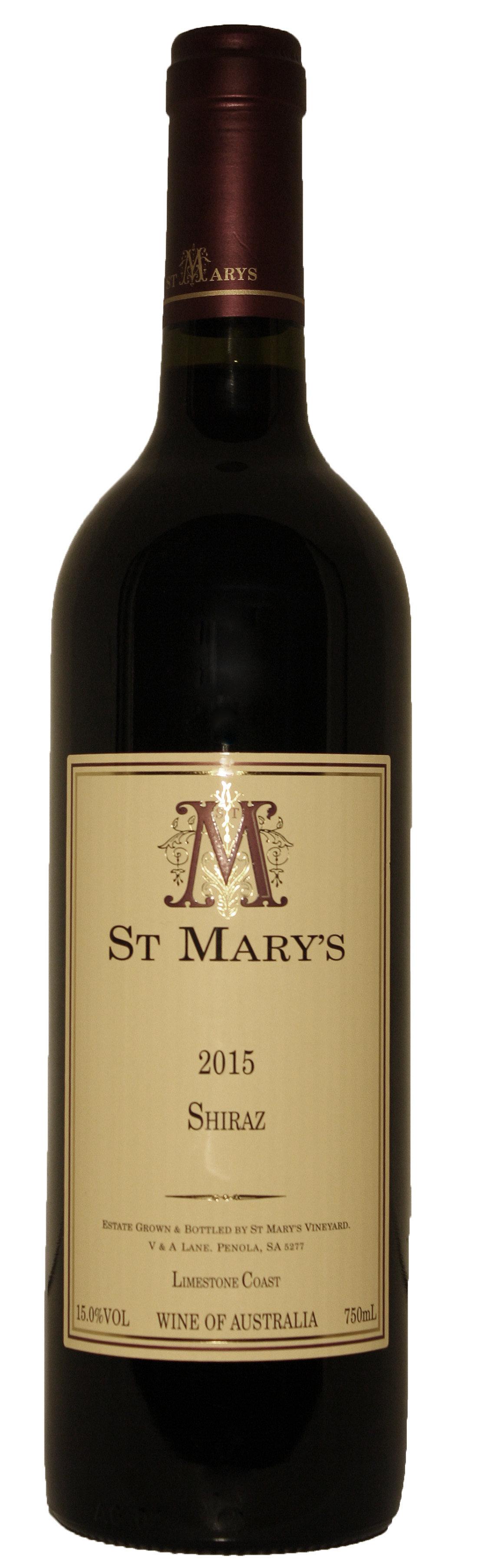 St Mary's Wines 2015 Shiraz 00015