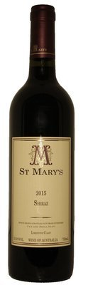 St Mary's Wines 2015 Shiraz