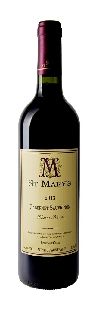St Mary's Wines 2015 House Block Cabernet Sauvignon