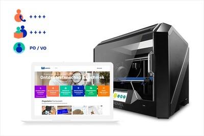 3Dkanjers 3D-Discovery Uitgebreid - inclusief Dremel 3D45 3D-printer (VO)