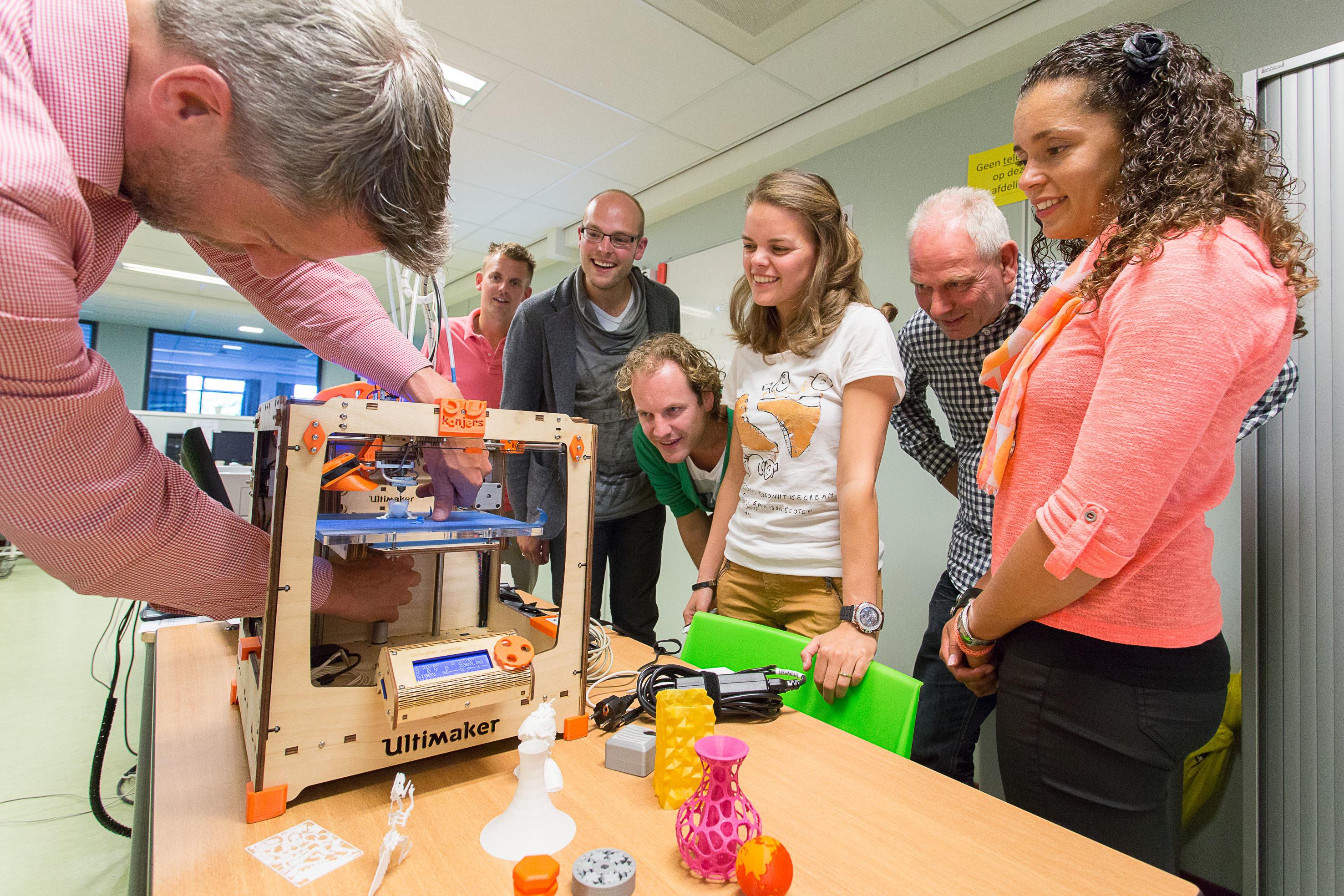 Ontwerpen in 3D: Van Printer naar Maker met 3Dkanjers 00016