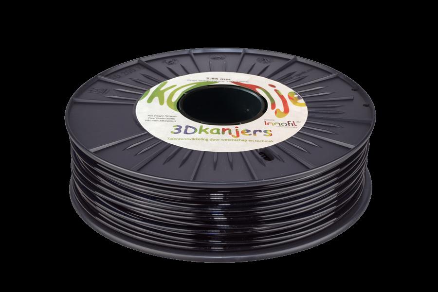 3Dkanjers PLA-Filament Zwart 3Dk0002