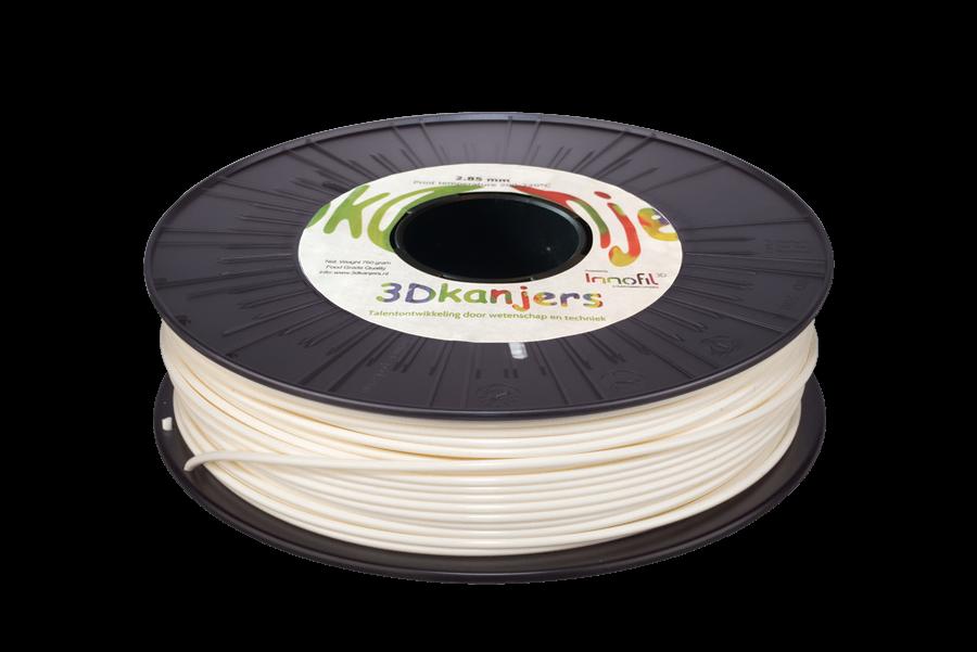 3Dkanjers PLA-Filament Wit 3Dk0003