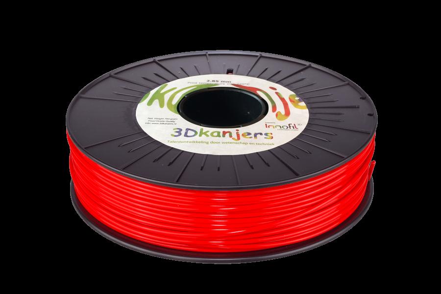 3Dkanjers PLA Rood