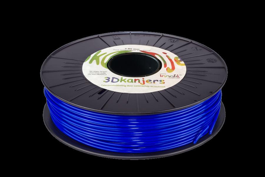 3Dkanjers PLA-Filament Blauw 3Dk0005