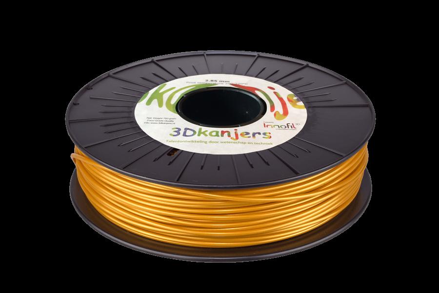 3Dkanjers PLA-Filament Goud 3Dk0021