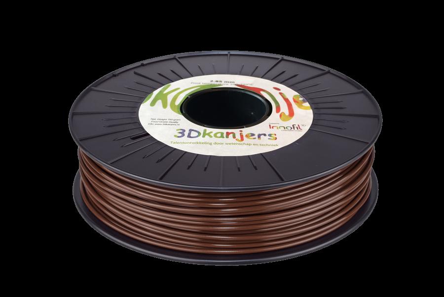 3Dkanjers PLA-Filament Bruin 3Dk0013