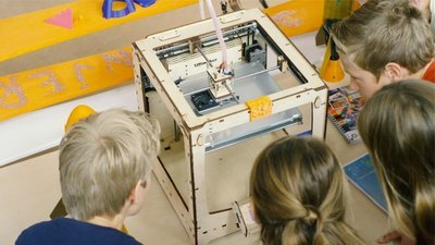 PO, VO en SO: 3Dkanjers Experience - inclusief DIY 3D-printer