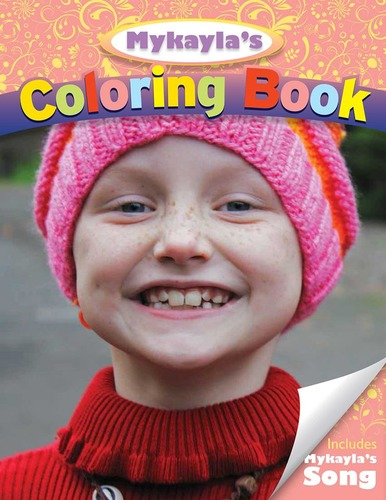 Brave Mykayla Coloring Book