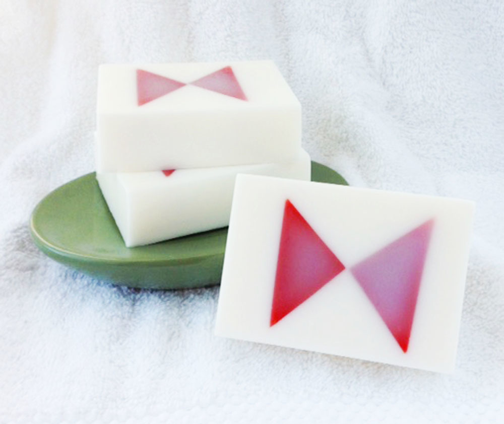 The Bow Tie Solid Goat Milk and Glycerin Soap
