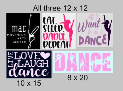 MAC Dance Signs