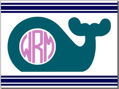 Animal with Monogram Design