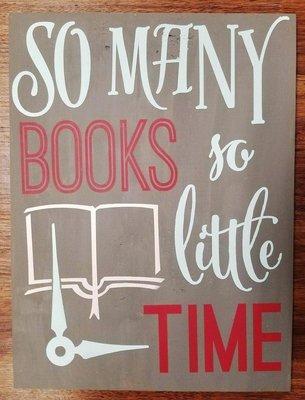 So Many Books