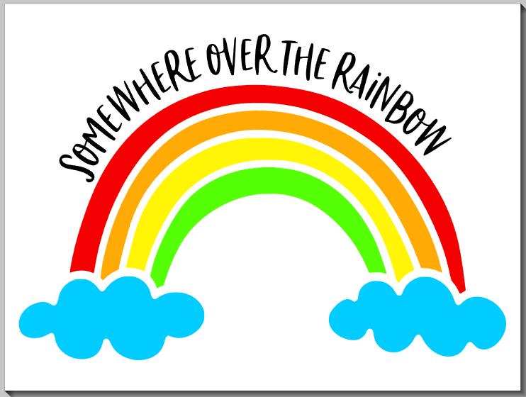 Somewhere over the Rainbow KIDS33