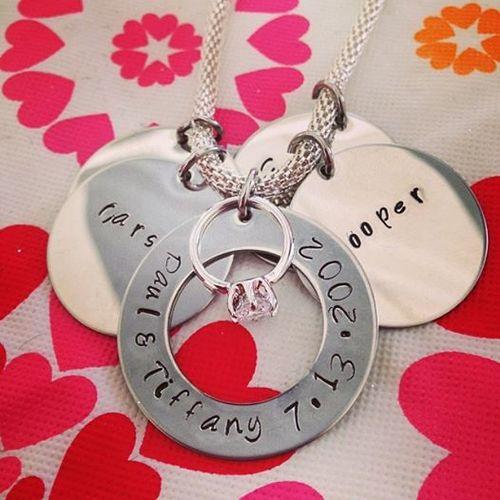 Wedding Charm Necklace